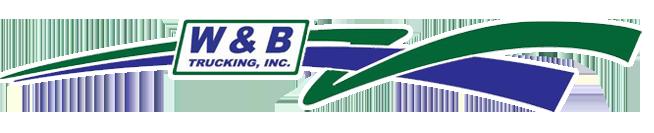W & B Trucking, Inc. Logo
